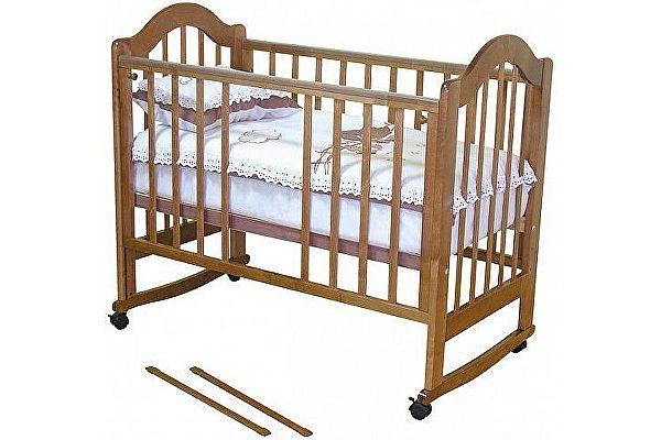 Кроватка для новорожденных Можга Красная Звезда Злата (С353)