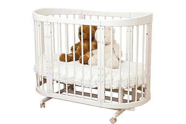 Кроватка для новорожденных Можга Красная Звезда Паулина 2 (С422)