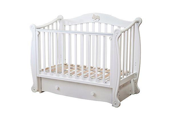 Кроватка для новорожденных Можга Красная Звезда Валерия (С707)