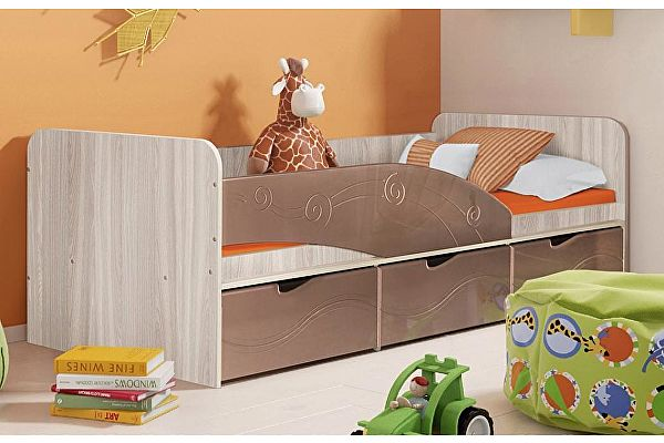 Кровать Диал Бриз-3 (МДФ)