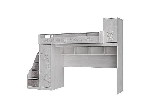 Кровать-чердак ЭТО мебель Блогер ПМ 232.01