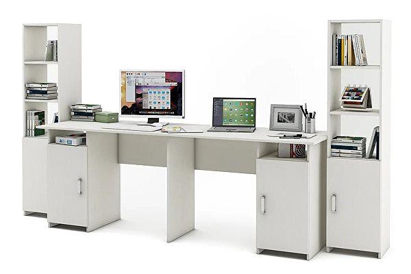 Письменный стол для двоих ВМФ Лайт-12 (УШЛТ-12)
