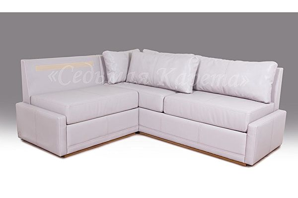 Кухонный угловой диван Турин (1 подушка) 159х136