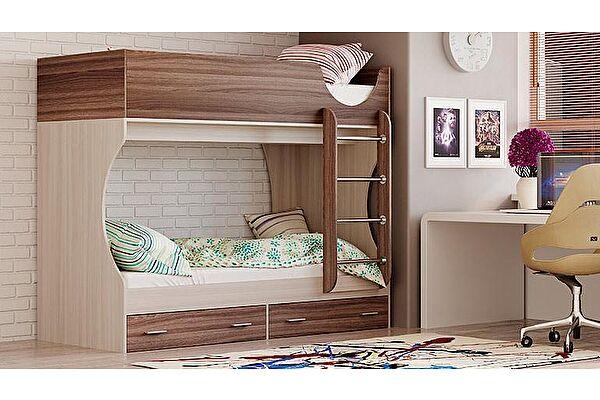 Кровать двухярусная Олимп-Мебель Адель-Д2