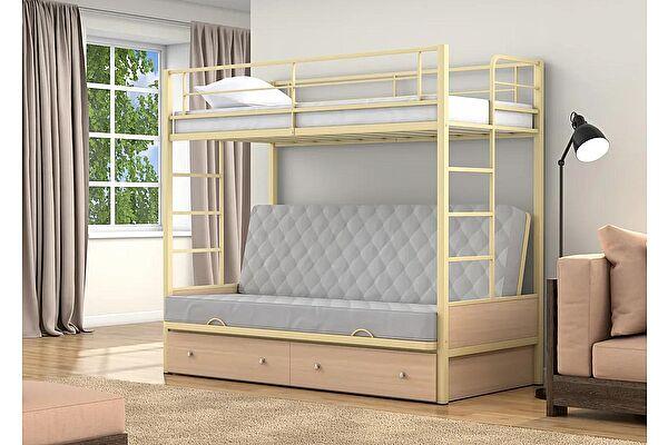 Кровать-диван 4 сезона Дакар 1 (ящики) двухъярусная