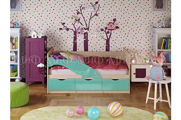 Детская кровать Миф Дельфин 1