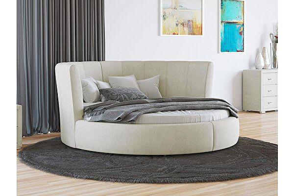 Круглая кровать Орматек Luna (цвета люкс и ткань)