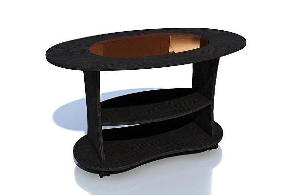 Овальный журнальный столик Сильва Норд-2