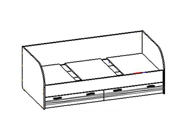 Кровать Santan Лотос КР-804
