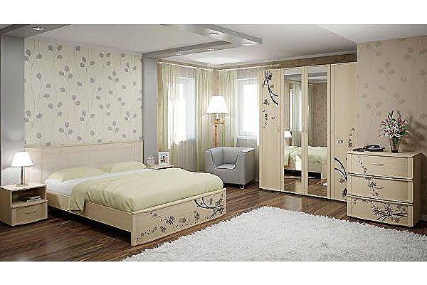 Кровать двуспальная Арника Сорбонна СБ-10 (160) без основания