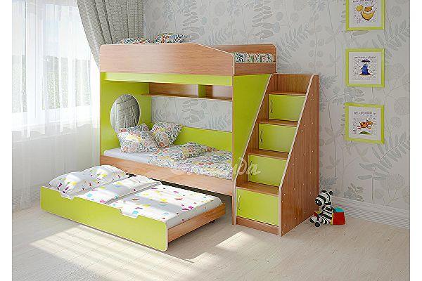 Кровать Легенда 10.5 трехъярусная