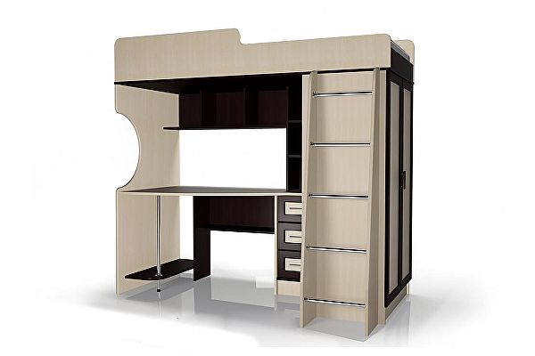 Кровать двухъярусная Мебелайн-3