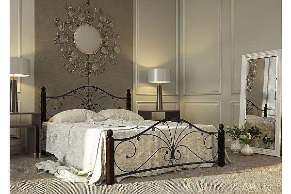 Кровать Rollmatratze Фортуна-1, черная
