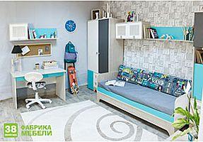 Детская мебель 38 попугаев Индиго