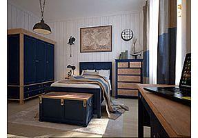 Спальня Этaжepкa Jules Verne