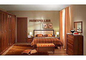 Спальня Глазов Montpellier (орех шоколад)