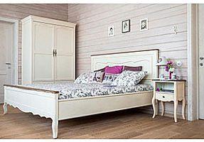 Спальня Mobilier de Maison Belveder Blanc Bonbon