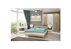 Спальня СтолЛайн Ирма Белый глянец