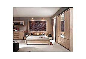 Спальня BRW Каспиан (дуб сонома)