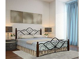 Кованые кровати Rollmatratze