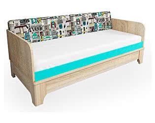 Купить кровать 38 попугаев Индиго с подъемным механизмом универсальная