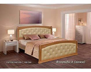 Купить кровать Альянс XXI век Флорида 1 кожа