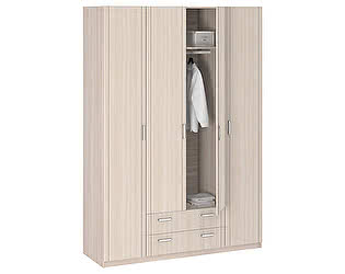 Купить шкаф Боровичи-мебель 4-х дверный без зеркала Лотос АРТ-8.04
