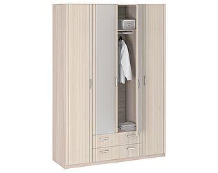 Купить шкаф Боровичи-мебель 4-х дверный с зеркалом Лотос АРТ-8.04