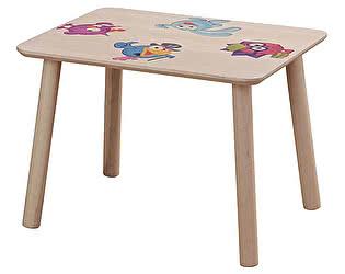 Купить стол Боровичи-мебель детский прямоугольный