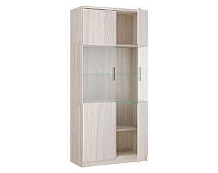 Купить шкаф Боровичи-мебель 2х дверный со стеклом Модерн, арт. 17.07
