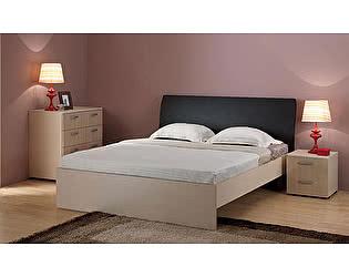 Купить кровать Боровичи-мебель Мелисса гнутая спинка