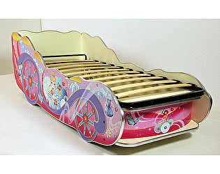 Купить кровать ВиВера -карета Принцесса 150