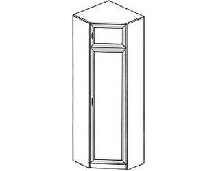 Купить шкаф ГРОС Алена ПМ 10 (рамка) угловой