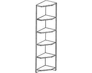 Купить стеллаж ГРОС Алена ПМ 17 рамка (угловые полки)