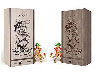 Купить шкаф ABC King Pirat 2-х дверный