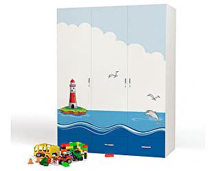 Купить шкаф ABC King Ocean 3-х дверный
