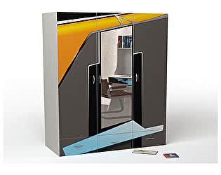 Купить шкаф ABC King Pilot 3-х дверный с зеркалом