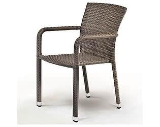 Купить кресло Афина-мебель Плетеный стул A2001G-C088FT Pale