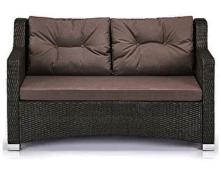 Купить диван Афина-мебель Плетеный S51A-W53 Brown