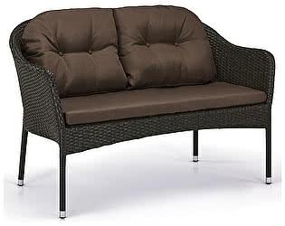 Купить диван Афина-мебель Плетеный S54A-W53 Brown