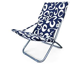 Купить кресло Афина-мебель складное Белла-1 CHO-134B-1H-1E Blue