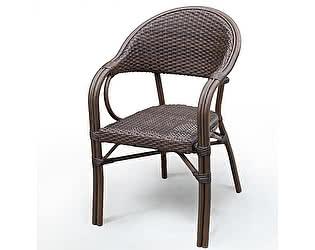 Купить кресло Афина-мебель Плетеное D2003SR-AD64 Brown
