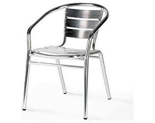 Купить кресло Афина-мебель Стул алюминевый LFT-3059 Silver metallic