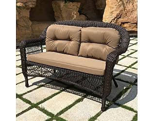 Купить диван Афина-мебель Плетеный LV520-1 Brown/Beige