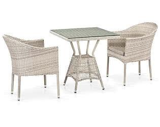 Купить обеденную группу Афина-мебель T706/Y350-W85 2Pcs Latte