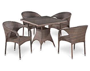 Купить обеденную группу Афина-мебель T220BG/Y290BG-W1289 Pale 4Pcs