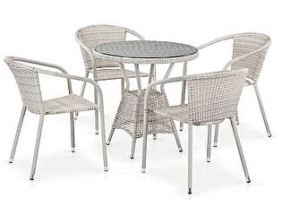 Купить обеденную группу Афина-мебель T705ANT/Y137C-W85 4Pcs Latte