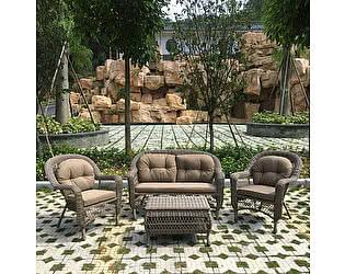 Купить комплект садовой мебели Афина-мебель LV520BB Beige/Beige