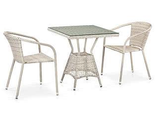 Купить обеденную группу Афина-мебель T706/Y137C-W85 2Pcs Latte