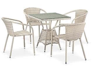 Купить обеденной группой Афина-мебель T706/Y137C-W85 Latte 4Pcs